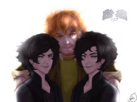 The RavenSquad by FrossetHjerte