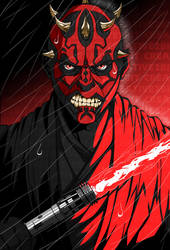 STAR WARS: Darth Maul by Creative2Bit