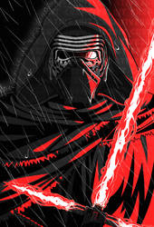 STAR WARS: Kylo Ren by Creative2Bit
