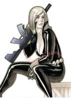 black widow by MarioChavez