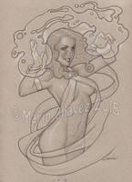 Sorceress by MarioChavez