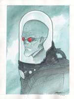 mr freeze by MarioChavez