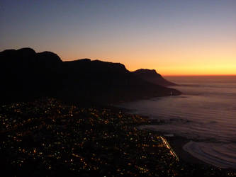 View from Lion's Head at night by XBloodyMaryX