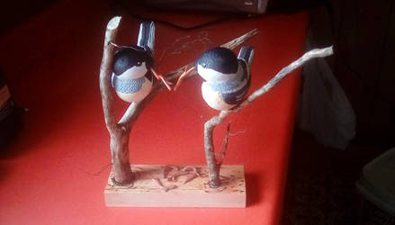 Wedding Gift: Pair of Chickadees by Ranpu-Tempu009