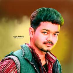 Vijay arts images puli movie hd by VigneshTDesign