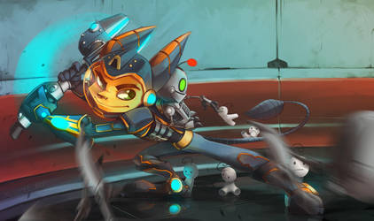 Cry Plays Ratchet and Clank by UNWanTED-ArT