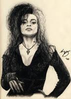 Bellatrix Lestrange by Lyvyan