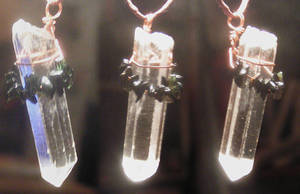 White Fire Pendant by Izile