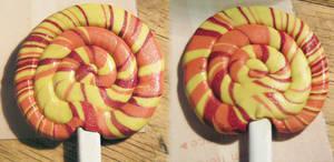 Fiery Lollipop Hair Stick by Izile