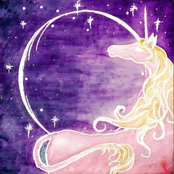 Ghostly Unicorn by Izile