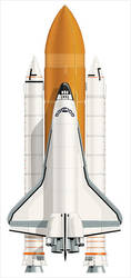space shuttle by IamLogo