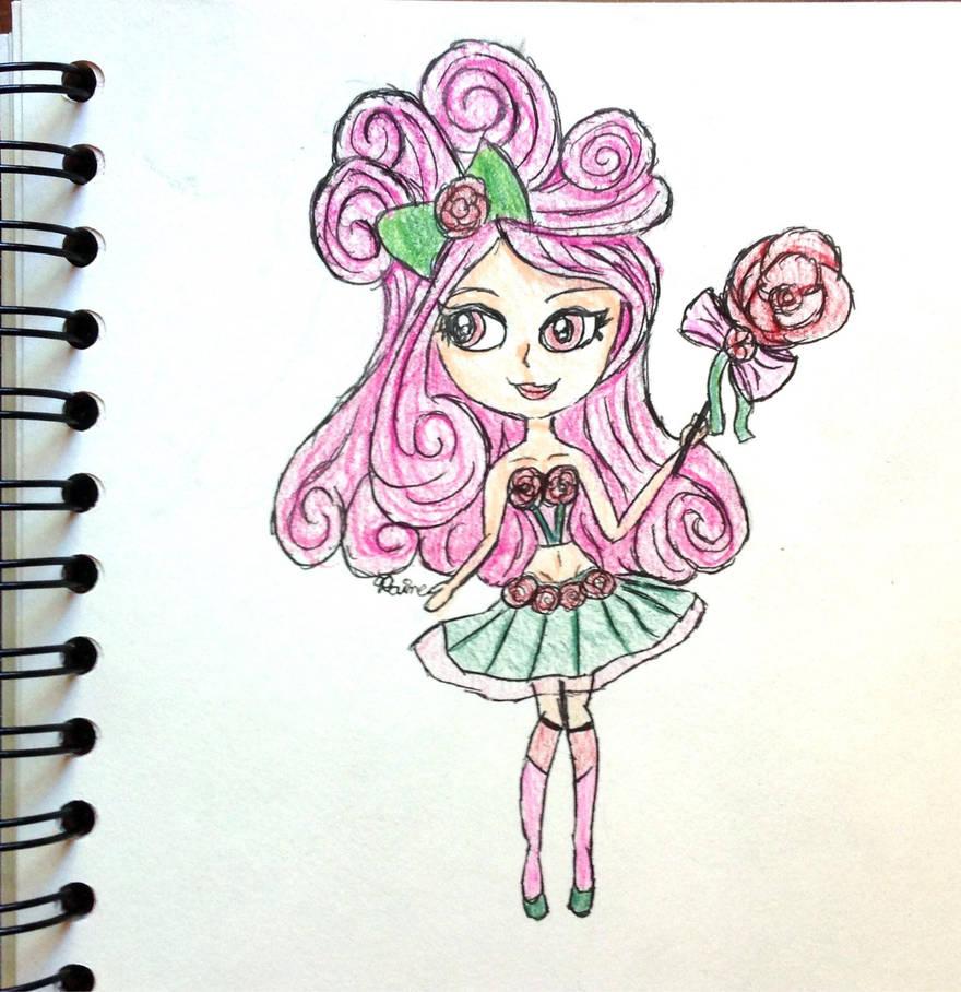 Chibi Rose Spirit by raine-diamond on DeviantArt