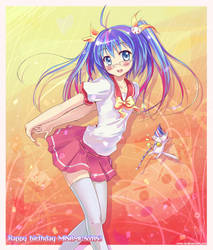:Happy birthday Minami-nyan: by ATOMixArt