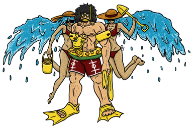 AatR Alternate Costume: Beach Fun Phi by Angry-buddha-88