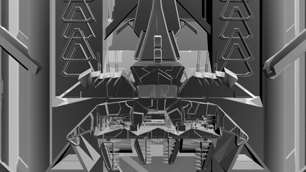 Skyscraper - Reflective Texture - Fullview by Conor3DDesign