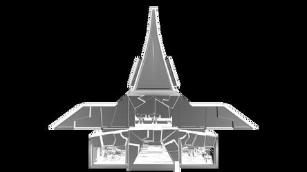 Skyscraper - Core structure by Conor3DDesign
