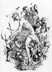 fallen sketch by youmaykillthebride