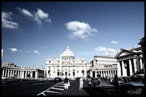 street goes to vatican... by archonGX