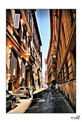 Narrow street... by archonGX