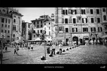 between spheres ... by archonGX