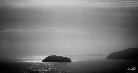 foggy islands by archonGX