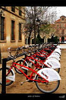 pile of bikes by archonGX