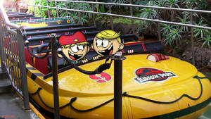 A Ride on Jurassic Park by SP2233