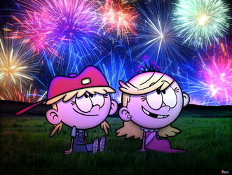 A Twin 4th of July by SP2233