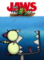 Jaws (Unikitty Version) by SP2233