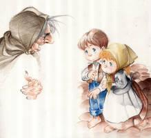 Hansel and Gretel by arielpadilla
