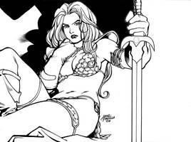 Red Sonja 2 by arielpadilla