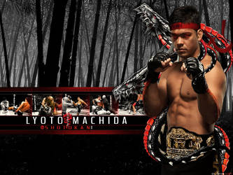 Lyoto Machida Wallpaper by olieng