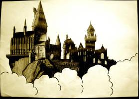 Hogwarts by apdrea