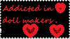 Doll maker stamp by marianagatto