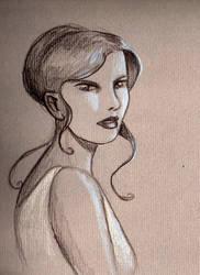 Girl by AquilegiaNox