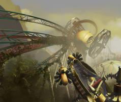 Abandoned Amusement Park by Zirngibl
