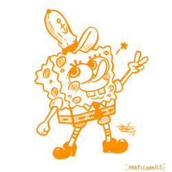 SpongeBob Squarepants by PencaComics