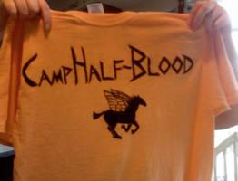Camp Half Blood Shirt by R-Lynn