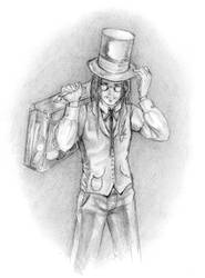 Steam Dukes - the scientist by tite-egna