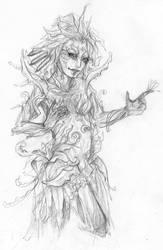Guild wars 2 - Sylvari by tite-egna