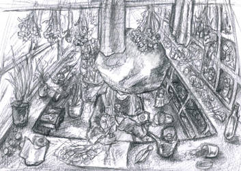 preparing herborist is preparing by tite-egna