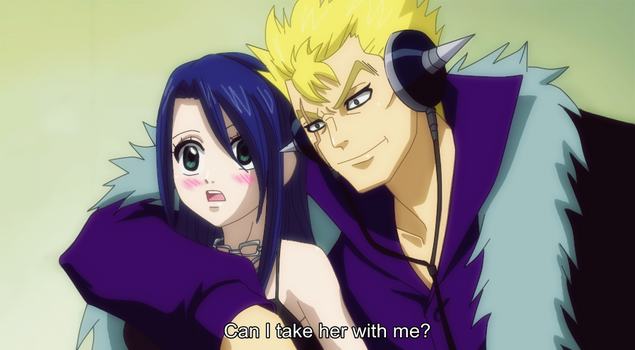*Fake Screenshot* ~Request~ Laxus X Selphy by 0Eka0