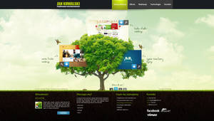 Corporate website studio design v2 by kqubekq by kqubekq
