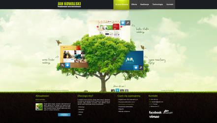 Corporate website studio design v2 by kqubekq by kqubekq