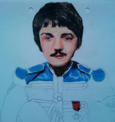 Paul McCartney by Frogstopper