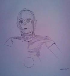 C3PO by Frogstopper