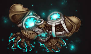 COM: Modulated Aetherblade Gauntlets by JNetRocks