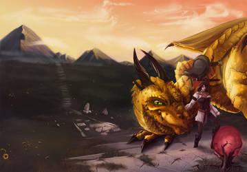 COM: Mark of the Dragon by JNetRocks
