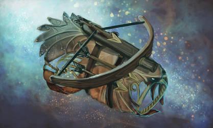 COM: Falcon Bracer by JNetRocks