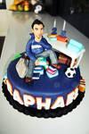 Raphael's birthday cake by ClaireCastle